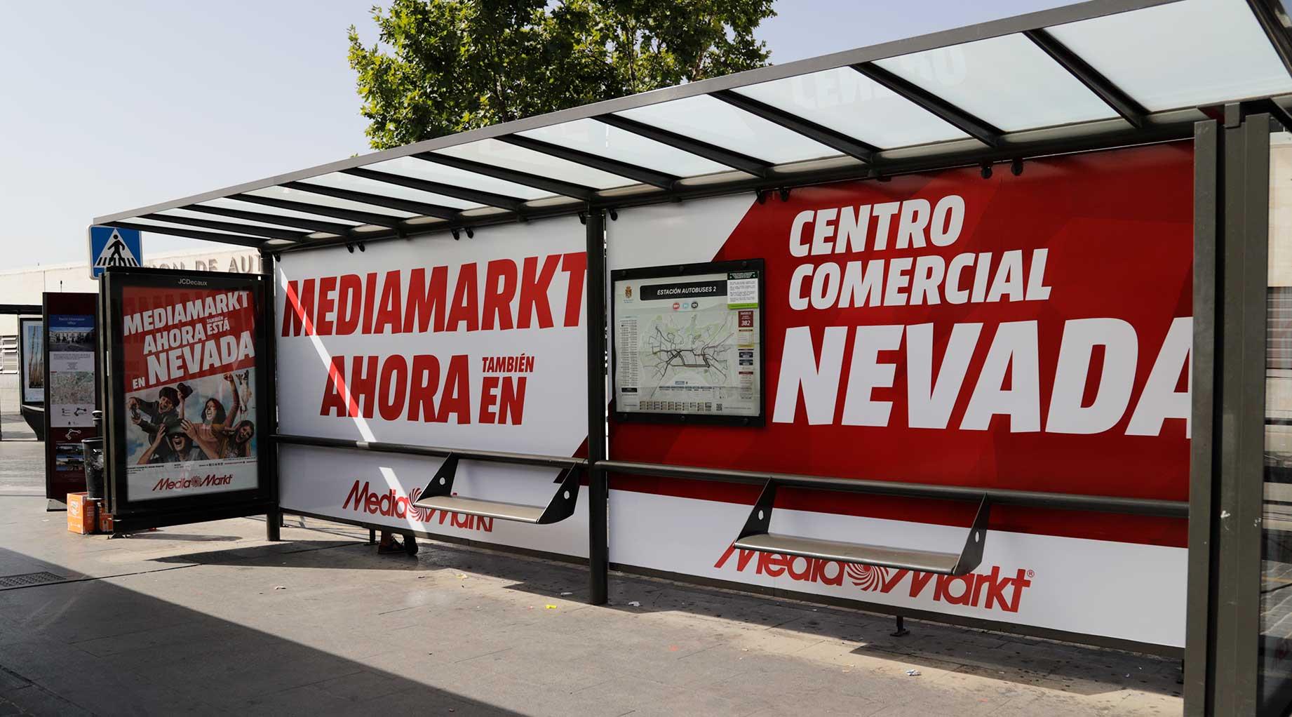 Marquesina Media Markt