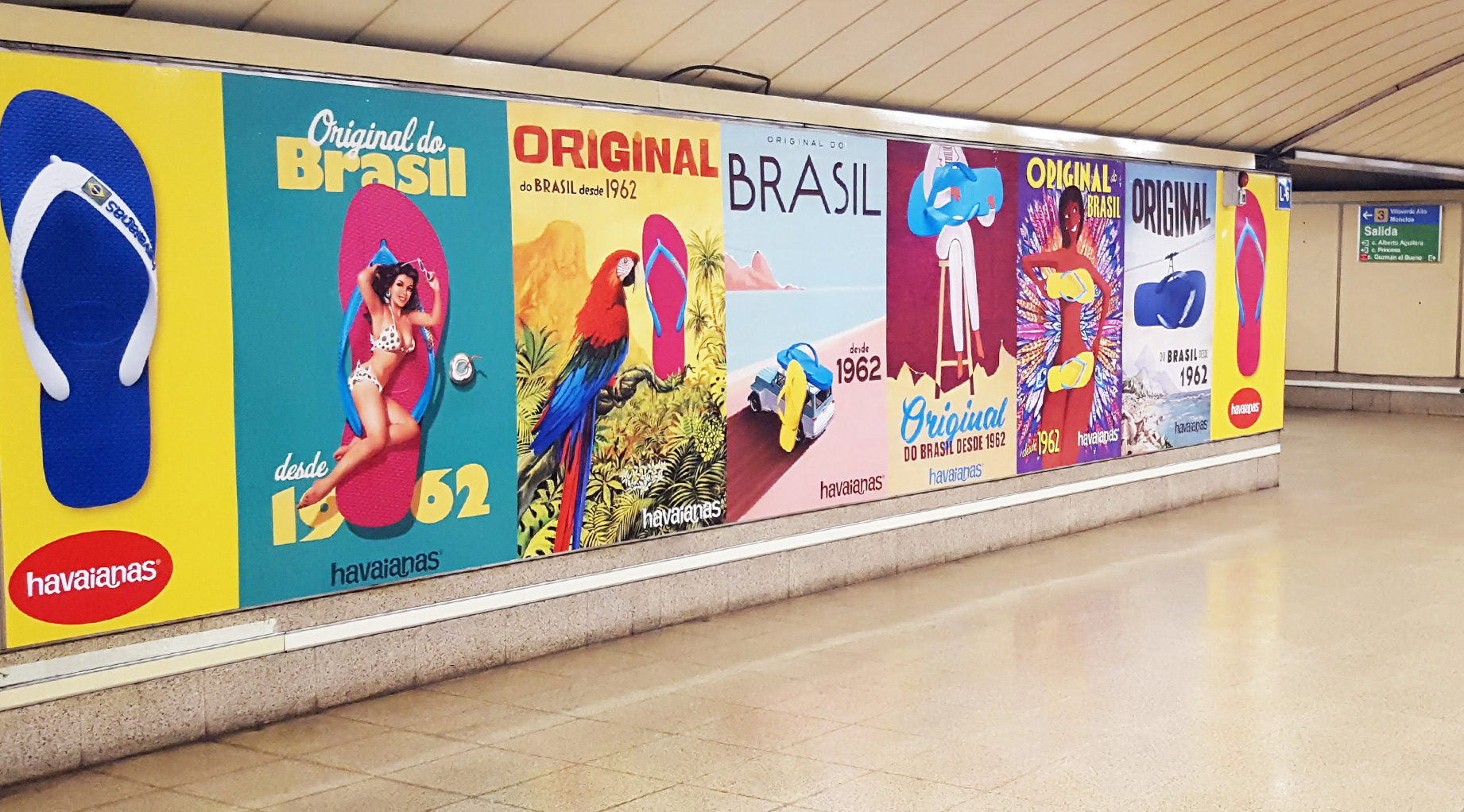 Metro Havaianas