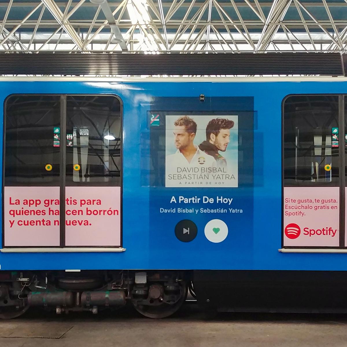 Tren Spotify