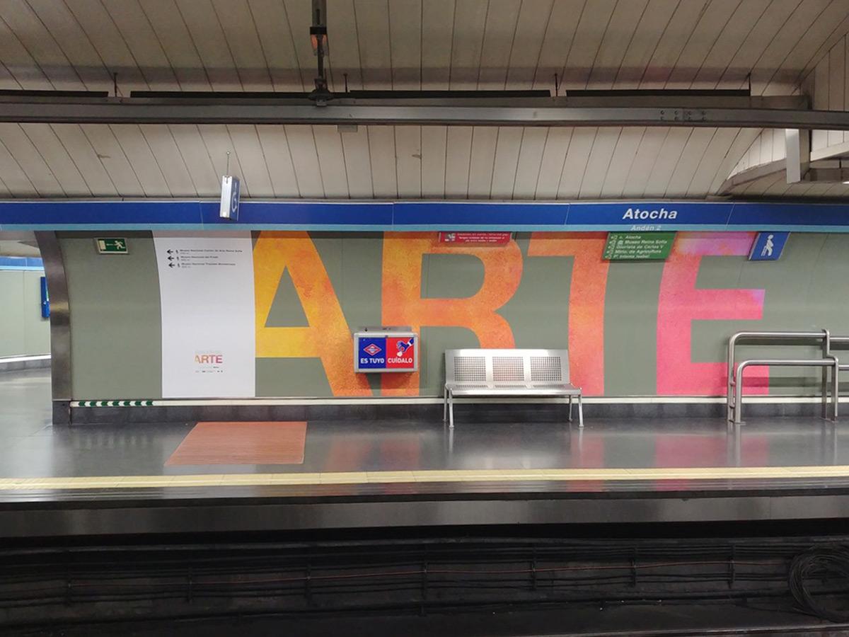 Atocha Estacion Arte